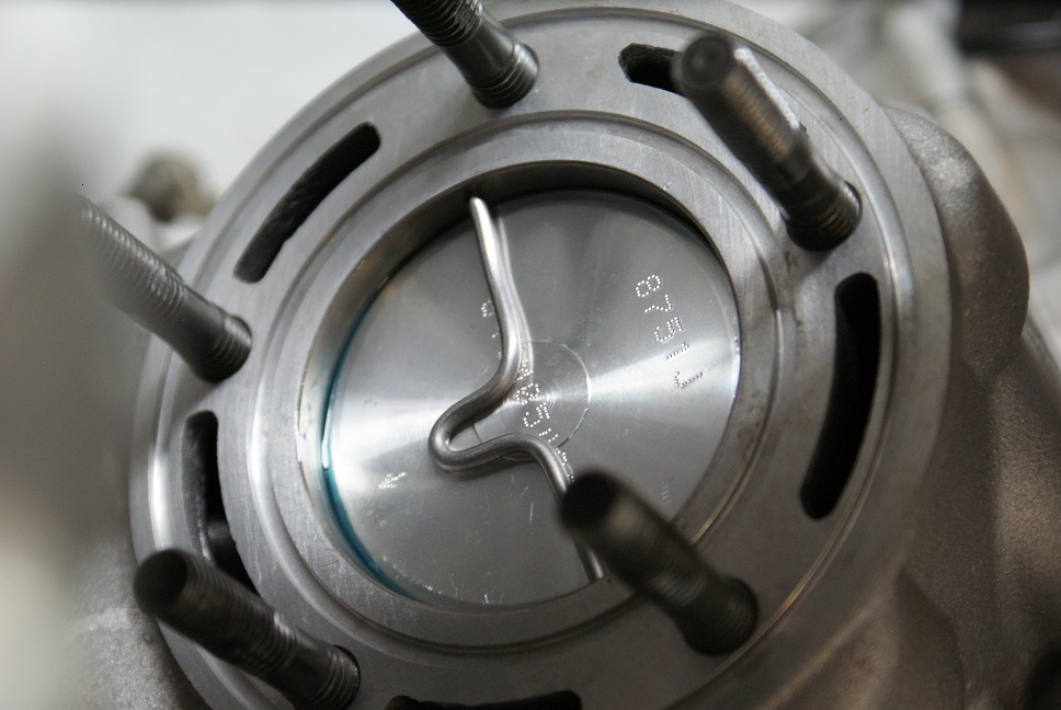 Ktm  Cylinder Removal